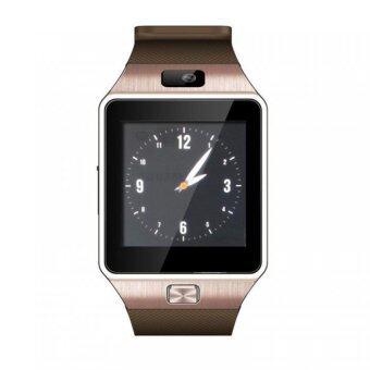 ATM นาฬิกาโทรศัพท์ รุ่น NZ09 (สีทอง) กล้องนาฬิกาบูลทูธ ใส่ซิมได้ Bluetooth Smart Watch SIM Card Camera