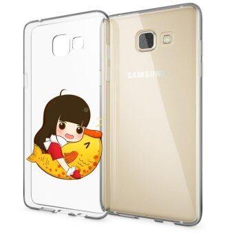 HugCase TPU เคส Samsung Galaxy A9 Proเคสโทรศัพท์พิมพ์ลาย Big Fish เนื้อบาง 0.3 mm