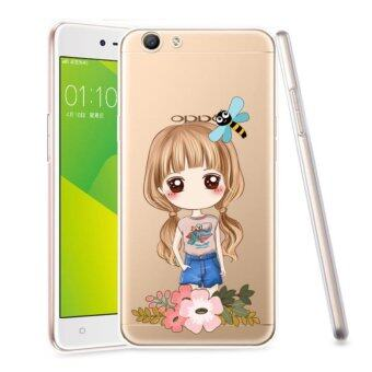 AFTERSHOCK TPU Case OPPO F1s (เคสใสพิมพ์ลายI'm a gril 3) / Thin 0.33 mm
