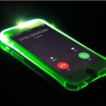 2559 คุณภาพสูง TTLIFE หลากสีวูบวาบเรียกเคสโทรศัพท์ iPhone 5/5s ฉาย (สีเขียว)