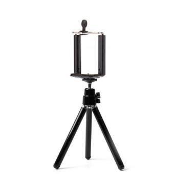 ขาตั้งกล้อง ขาตั้งมือถือ สำหรับตั้งถ่ายภาพนิ่ง หรือ วิดิโอ Mobile Holder with Tripod - Black