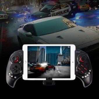 IPEGA จอยเกมส์บลูทูธ ไร้สาย สำหรับ iOS / Android for สมาร์ทโฟน/แท๊บเล็ต/iPad รุ่น PG9023 (Black)