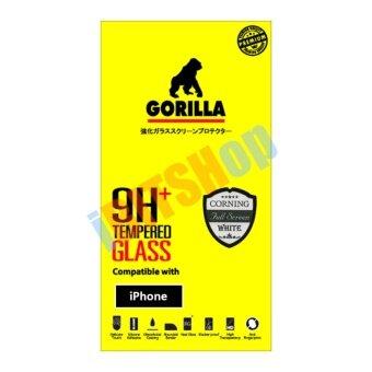Gorilla กระจกนิรภัย แบบเต็มจอ iPhone 6 Plus/6s Plus (สีขาว)