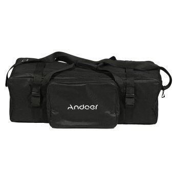 Andoer 10in Photography Studio Light Kit Padded Carrying Bag forLight Stand Umbrella Flash Lighting Equippment