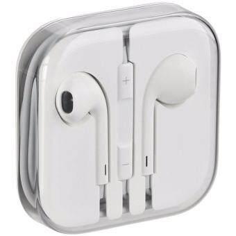 Aiphone Corporation หูฟัง สำหรับไอโฟน iPhone / iPad / iPod iphone 4/4s/5/5s/5c สีขาว