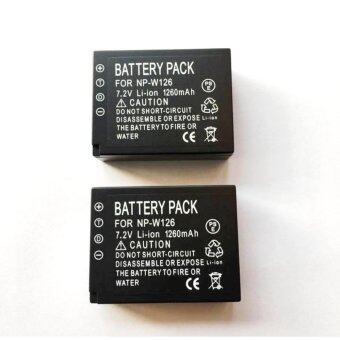 แพ๊คคู่ (จำนวน 2 ก้อน) แบตเตอรี่กล้อง Fuji XA2 รหัสแบต NP-W126 Replacement Battery for Fujifilm แบตเตอรี่ SPA สำหรับกล้อง X-Pro1 X-E1 X-M1 X-M2 X-A1 X-A2 X-E2 X-T1 FinePix HS30EXR 35EXR X-T10