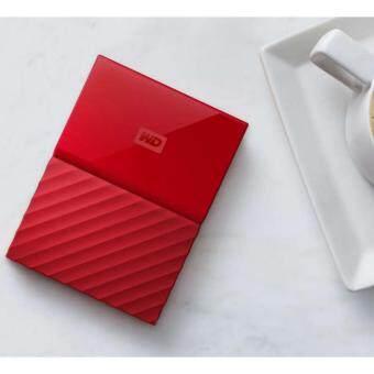 ฮาร์ดดิส WESTERN NEW My Passport 1 TB(สีแดง)
