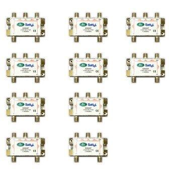 dBy Satellite Splitter All Pass 4 wayรุ่น 4204 AP dBy (แพ็ค10)