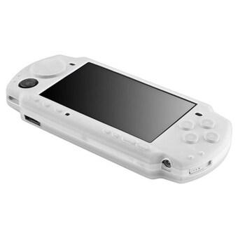 ซิลิโคน Sony PSP Silicone Skin Protective Soft Case Cover for Sony PSP 2000 3000 - White