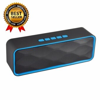 awei168thai Bluetooth Mini Speaker ลำโพงบลูทูธ พกพา มีวิทยุFM ไฟกระพริบ รุ่น