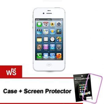 REFURBISHED Apple iPhone4S 32 GB (White) Free Case+ScreenProtector