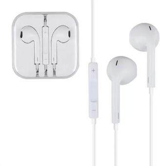 หูฟัง Earphone Headphone 3.5mm Headset For Apple iPhone iPod iPad(White)