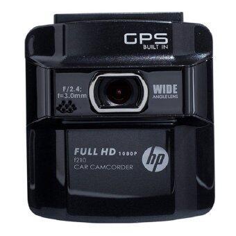 HP กล้องติดรถยนต์ รุ่น f210 (สีดำ)