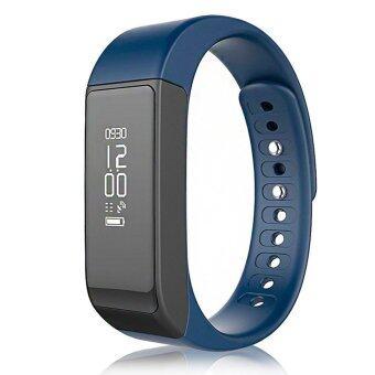 Person นาฬิกาสุขภาพอัจฉริยะ ติดตามกิจกรรม Bluetooth Smart Wristband Watch รุ่น I5 Plus Activity Tracker-Blue