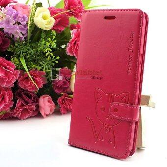 Domi Cat เคส Samsung Galaxy A9 Pro / A9 (สีบานเย็น)