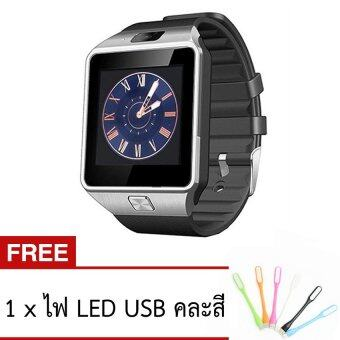 ATM Smart Watch Phone รุ่น A9 (สีดำ) กล้องนาฬิกาบูลทูธ ใส่ซิมได้ Bluetooth Smart Watch SIM Card Camera ฟรี ไฟ LED USB (คละสี)