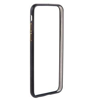 "Dark Metallic Bumper Case for iPhone 6/6s 4.7"" เคสบัมเปอร์ สำหรับไอโฟน 6/6s 4.7"" สีดำ"