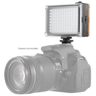 Andoer AD-96 มินิแบบพกพาบนกล้องวิดีโอ led ลงในแผงไฟ 5500กิโลไบต์/3200กิโลไบต์ CRI85+กับขาว และส้มตัวสำหรับ Canon Nikon Sony DSLR กล้องกล้องถ่ายวิดีโอ