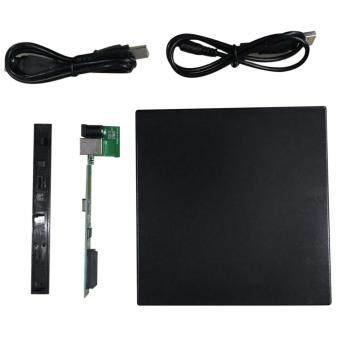 แบบพกพา USB 2.0 DVD ซีดี-รอม DVD SATA ภายนอกบางเคสสำหรับเครื่องโน้ตบุ๊ก ราคาถูกที่สุด ส่งฟรีทั่วประเทศ