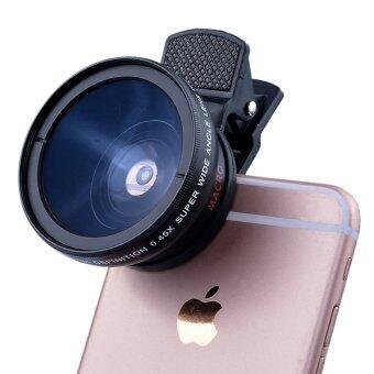 ชม, 37มม 0.45 x ซุปเปอร์เลนส์มุมกว้างกับ 12.5 x ซุปเปอร์มาโครเลนส์สำหรับกล้องมือถือ