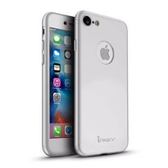 iPaky Ultra Thin 360 เต็มรูปแบบสำหรับ iPhone 7 กรณี + กระจกบังแดด Protector ฝาครอบเต็มรูปแบบ - intl