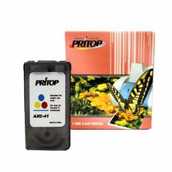 Pritop /Canon Inkjet iP1200/iP1600/iP1700/iP1880/iP2580/MP145/MP150/MP160/MP228/MP450/MP460/MP476/MX308/MX318/iP1980 ใช้ตลับหมึกอิงค์เทียบเท่า รุ่น 41/CL41/CL 41/CL-41