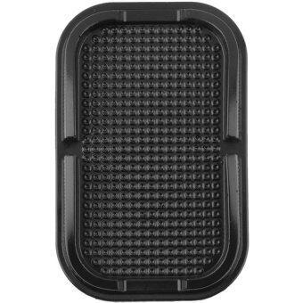 MEGA Universal Multi-functional Car Anti Slip Pad Mat Stand Holder แท่นวางมือถือ ที่จับ ขาตั้ง อเนกประสงค์ ในรถยนต์ For Smart Phone GPS Tablet รุ่น MG2005 (Black)
