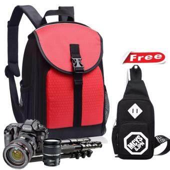 Peimm Modello Camera Backpack กระเป๋ากล้อง เป้ใส่กล้อง กระเป๋าใส่เลนส์ กันน้ำ มัลติฟังก์ชั่น