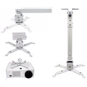 ขาแขวนโปรเจคเตอร์ Vertex Projector Hanger LHG-05 (White) แบบติดฝาผนังและเพดาน