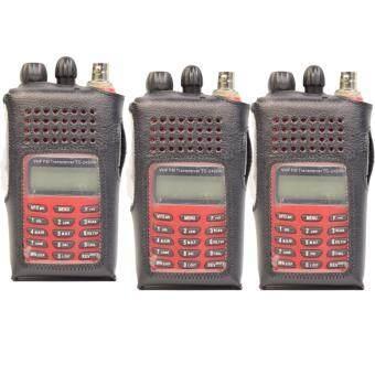 SPENDER ซองหนังวิทยุสื่อสาร รุ่น SPENDER TC-245HA 3 ซอง