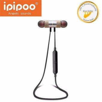 Awei IPIPOO รุ่น iL92BL Wireless Bluetooth Sports Stereo Earphone (ทอง)(Gold)