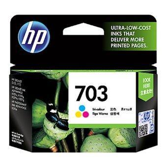 HP 703 Color ตลับหมึก Inkjet HP สี