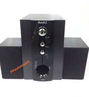 Music D.J .ลำโพงซับวูฟเฟอร์ 2.1 รุ่น M-X3