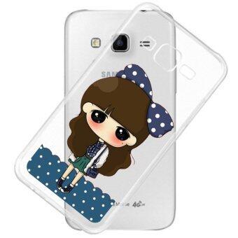 AFTERSHOCK TPU Case Samsung Galaxy J7 2015 (เคสใสพิมพ์ลาย I'm a girl) / Thin 0.33 mm