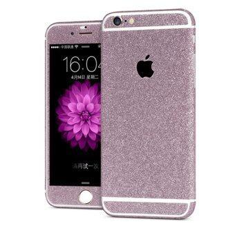 ความงามระยิบระยับเต็มเติมชีวิตชีวาร่างกายป้องกันสติ๊กเกอร์สติ๊กเกอร์กราฟีนเคสสำหรับ iPhone 6/6s (สีม่วง)