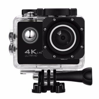 Nanotech 2016 กล้องกันน้ำ ถ่ายใต้น้ำ พร้อมรีโมท Sport camera Action camera 4K Ultra HD waterproof WIFI FREE Remote BLACK (image 2)
