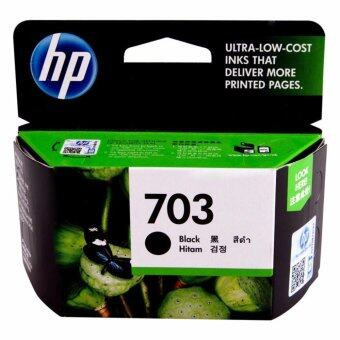 HP 703 (CD887AA) หมึกแท้ สีดำ