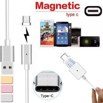 Harga Magnetic USB Charger Cord Sync Data Cable Type-C For Android Gold - intl