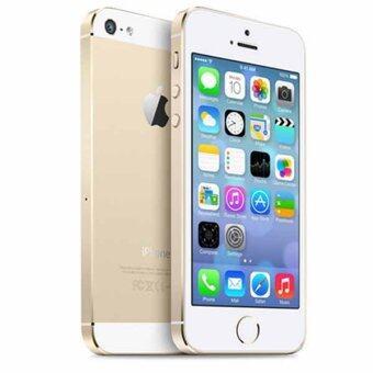 เช็คราคา Apple iPhone5S 16 GB GOLD Unlocked iPhone 5S GPS Mobile Phone iPhone5s (free case screen protector) check ราคา