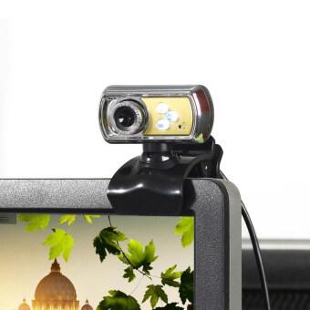 จท 12.0มกาพิกเซล 3 กล้องเว็บแคมเชื่อมต่อ usb กับไมค์แล้วมองในที่มืดสำหรับพีซี (สีเหลือง)