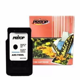 Axis /Canon Inkjet MG4270/MX517/MG2170/MG3170/MG4170/MX437/MX377 ใช้ตลับหมึกอิงค์เทียบเท่า รุ่น 740/PG740/PG 740XL/PG-740XL Pritop
