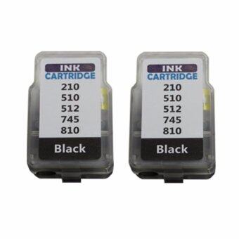 PRITOP Canon ink Cartridge PG810/PG 810/PG-810/*2 Pack ใช้กับปริ้นเตอร์ Canon Inkjet MP237/IP2770/MX347/MX357/MX328/MP287/MP497/MP366/MX416/MX426/MP245/MP486/MX338/MP496/MP258