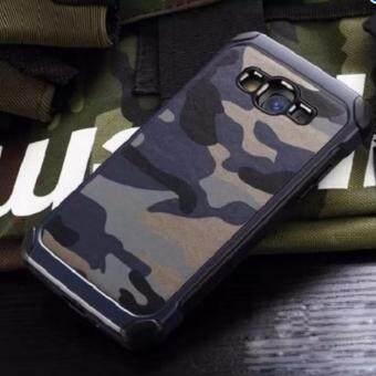 alaxy J5 2016 เคสลายทหาร เคสกันกระแทก ราคาถูก พร้อมส่ง ทำจากวัสดุ TPU นิ่ม ใหม่ สีน้ำเงิน