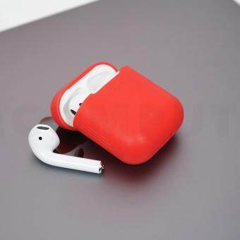 เคส Airpods สีแดง (AirPods Silicone Case)