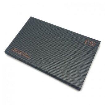 Eloop Power Bank พาวเวอร์แบงค์ แบตสำรอง 18000mAh รุ่น E19 สีดำ (Black)