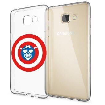 HugCase TPU เคส Samsung Galaxy A9เคสโทรศัพท์พิมพ์ลาย Shield เนื้อบาง 0.3 mm