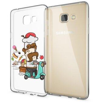AFTERSHOCK TPU Case Samsung Galaxy A5 2016 (เคสใสพิมพ์ลายChef) / Thin 0.33 mm