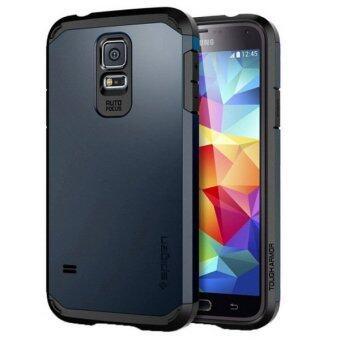 SPIGEN ชุดเกราะพลาสติกแข็ง+TPU รวมเคสสำหรับ Samsung Galaxy S5/G900 (น้ำเงิน)