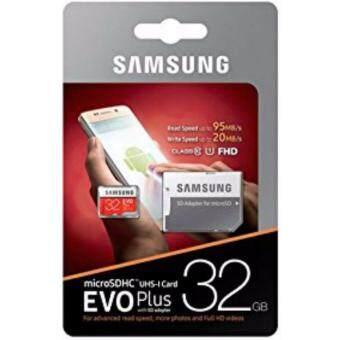 Samsung 32GB EVO Plus Micro SD with Adapter (image 0)