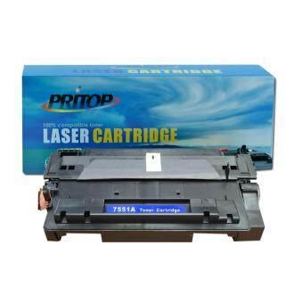 PRITOP HP Q7551A/7551A/Q7551/51A ใช้ตลับหมึกเลเซอร์เทียบเท่า Pritop